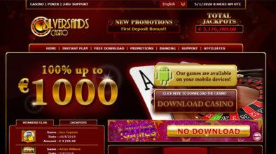 Silversands Casino Euros