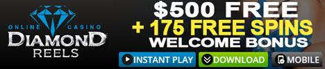 Diamond Reels - $500 Welcome Bonus